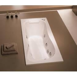 Vasca Mod. VICTORIA 170x80 completa di 2 pannelli- acrilico bianco