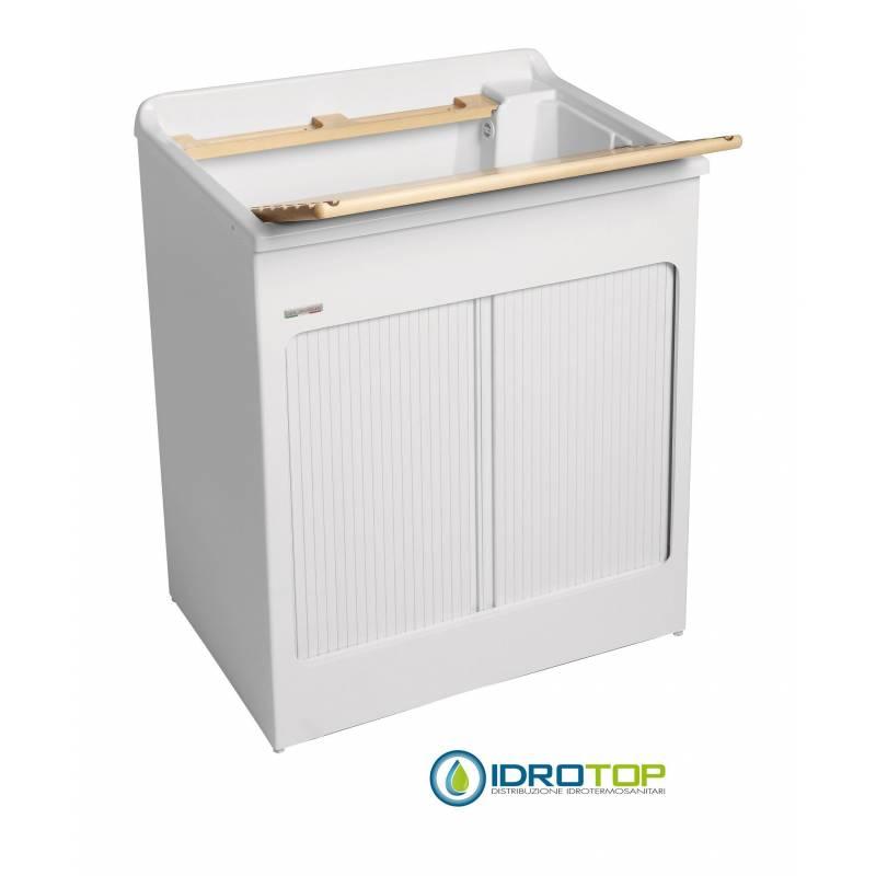 Mobile per esterno lavacril max 75x50 tavola lavapanni in for Mobile esterno legno