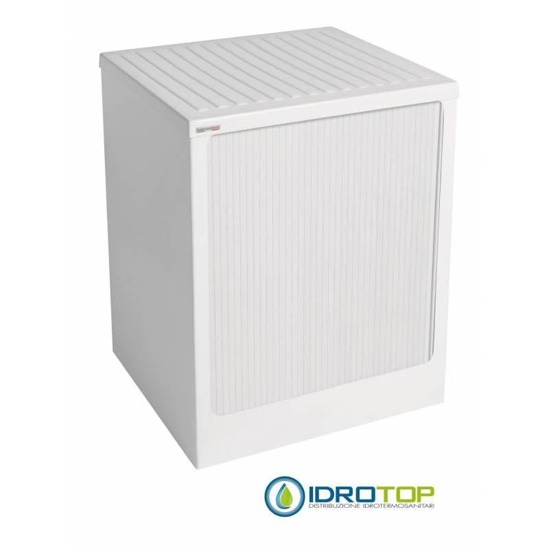 Mobile per esterno lavacril box per lavatrice bianco 72x68 for Mobile esterno