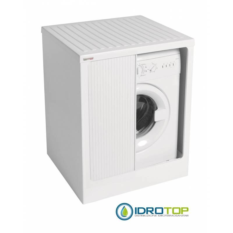 Mobile per esterno lavacril box per lavatrice bianco 72x68 - Lavatrice esterno ...