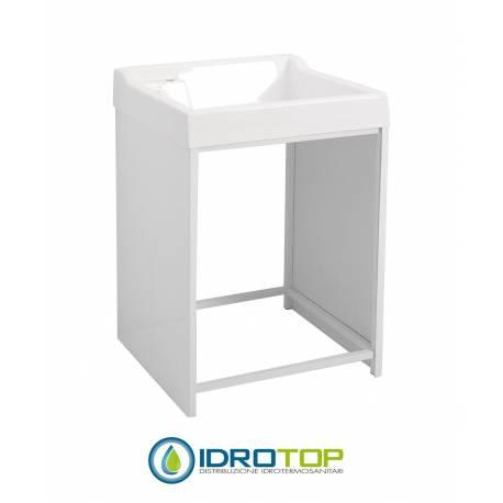 Mobile per esterno lavacril on 72x68 portalavatrice bianco - Lavatrice per esterno ...