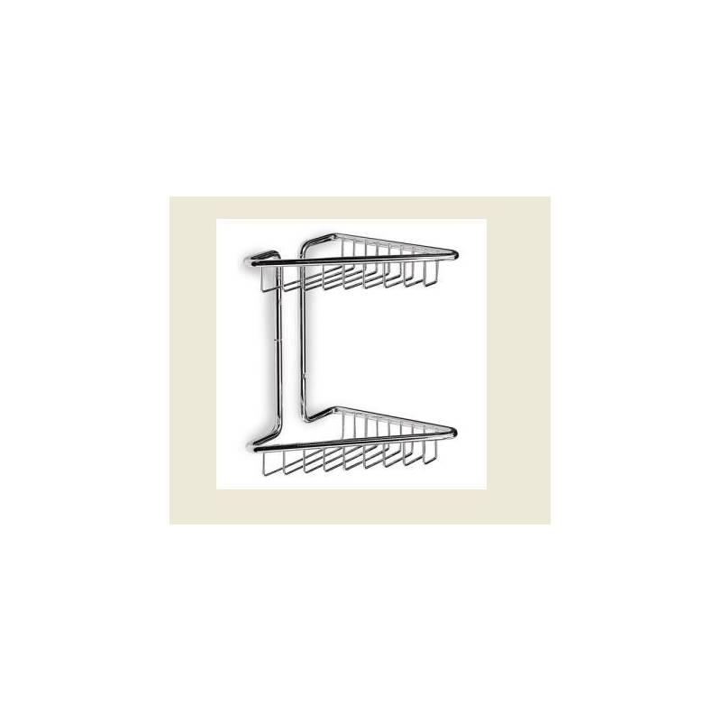 Porta sapone a griglia angolare 2 piani - Porta saponi doccia ...