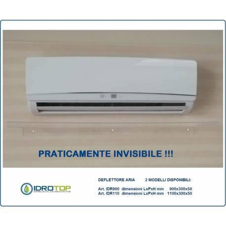 OFFERTA di N.5 DEFLETTORI aria condizionatori IDR 900 cm 90 in plexiglass per split