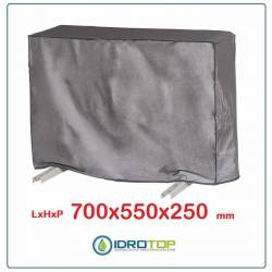 Telo Cappottina 700x550x250mm per Condizionatore Protezione Unità Esterna