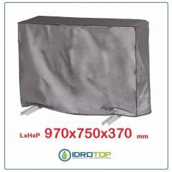 Telo Cappottina 970x750x370 mm per Condizionatore Protezione Unità Esterna