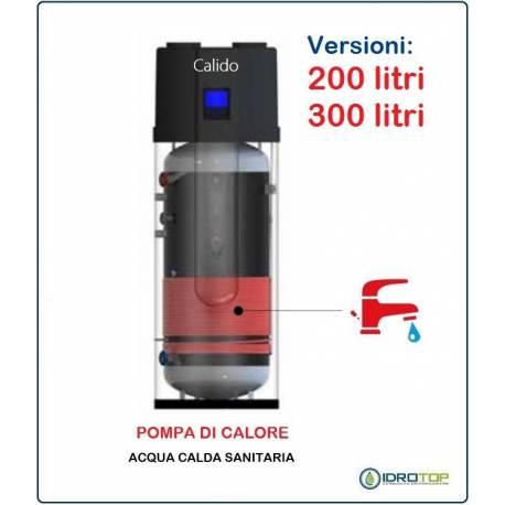 Pompa di calore per acqua calda sanitaria acs alta for Serbatoio di acqua calda in rame