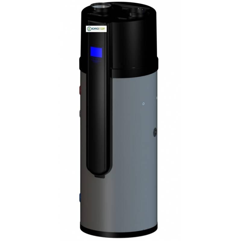 Pompa di calore per acqua calda sanitaria 200 litri acs calido for Serbatoio di acqua calda in plastica