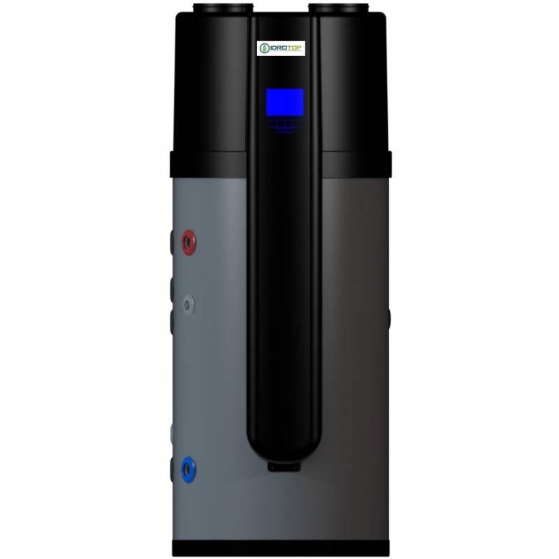Pompa di calore 200 acqua calda sanitaria serbatoio for Serbatoio di acqua calda in rame
