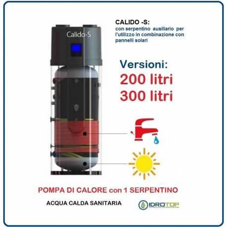 Pompa di calore riscaldamento acqua calda sanitaria