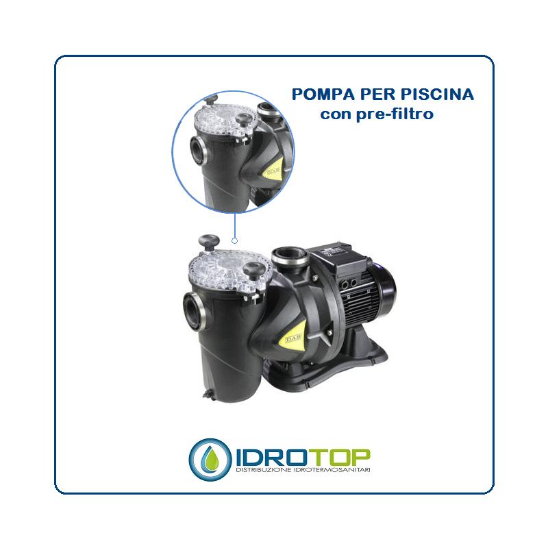 Pompa per piscina europro 100m centrifuga autoadescante for Pompa per piscina
