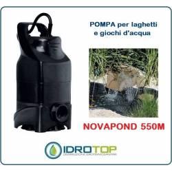 Pompa per Laghetti per creare Cascate-Sommergibile per Ricircolo Novapond 550 M