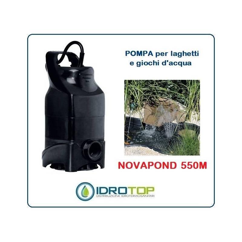 pompa per ricircolo laghetti novapond 550