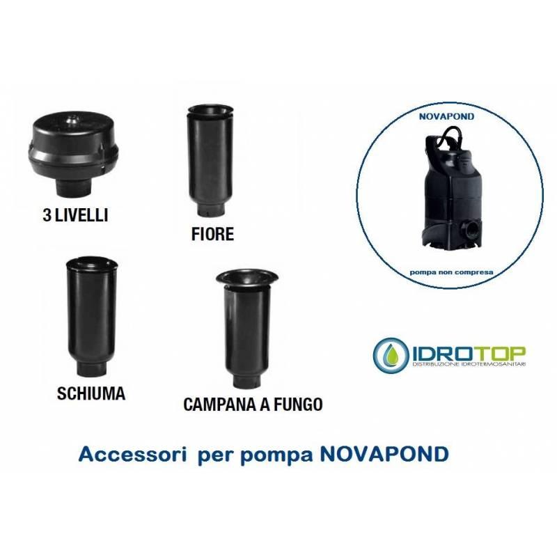 Accessorio tubo telescopico per pompa novapond per laghetti for Pompe x laghetti
