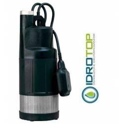 Pompa Sommersa Multigirante DIVER 6 con galleggiante con cavo e spina-Pronta all'uso.