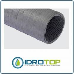 Tubo Flessibile PVC Estensibile a 10 mt Installazione Ventilazione Aria