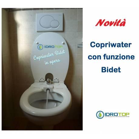 Copriwater bidet sedile con funzione bidet for Copri wc ideal standard