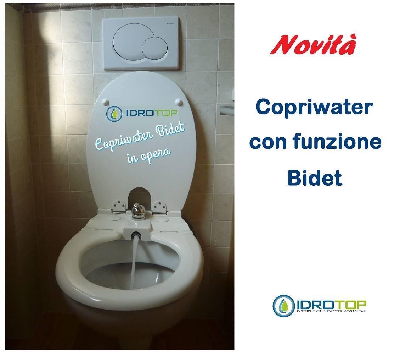 Sedile Bidet Per Wc.Copriwater Bidet Sedile Con Funzione Bidet