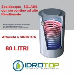 Scaldabagno STX LT80 Solare Attacco SINISTRO Serpentino Fisso Alto Rendimento