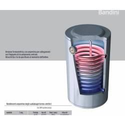 Scaldabagno Solare STX Attacco SINISTRO con Serpentino Fisso Alto Rendimento