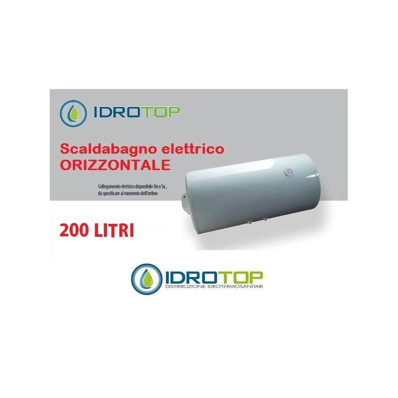 Scaldabagno elettrico orizzontale litri 200 - Scaldabagno elettrico 80 litri prezzo ...