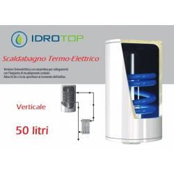 Scaldabagno Termo-Elettrico ST Verticale LT50 con Serpentino