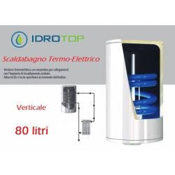 Scaldabagno Termo-Elettrico ST Verticale LT80 5Ann.Gar. Serpentino