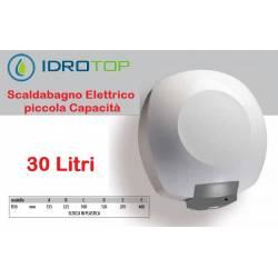 Scaldabagno Elettrico B30 LT Serie Capri con Valvola e Termostato di Sicurezza