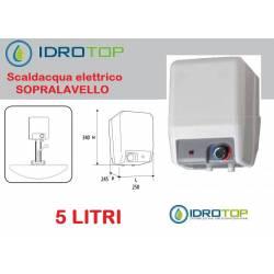 Scaldabagno Elettrico A5 SP installazione Sopralavello+kit fissaggio