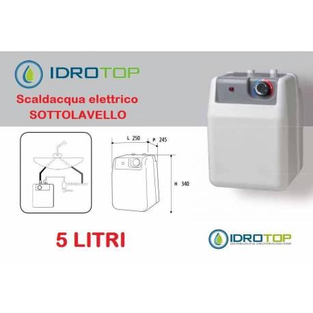 Scaldabagno elettrico sottolavello litri 5 - Scaldabagno elettrico 10 litri ...