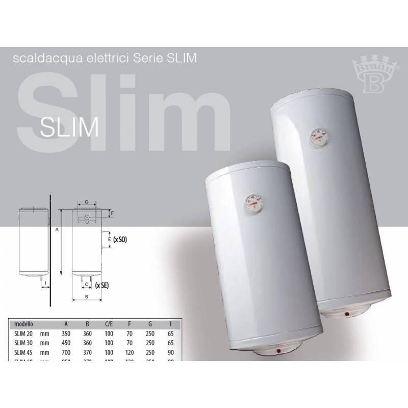 Scaldabagno elettrico slim salvaspazio verticale ideale spazi piccoli - Scalda bagno elettrico ...