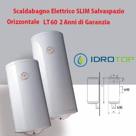 Scaldabagno lt60 elettrico slim salvaspazio orizzontale 2 - Scalda bagno elettrico ...