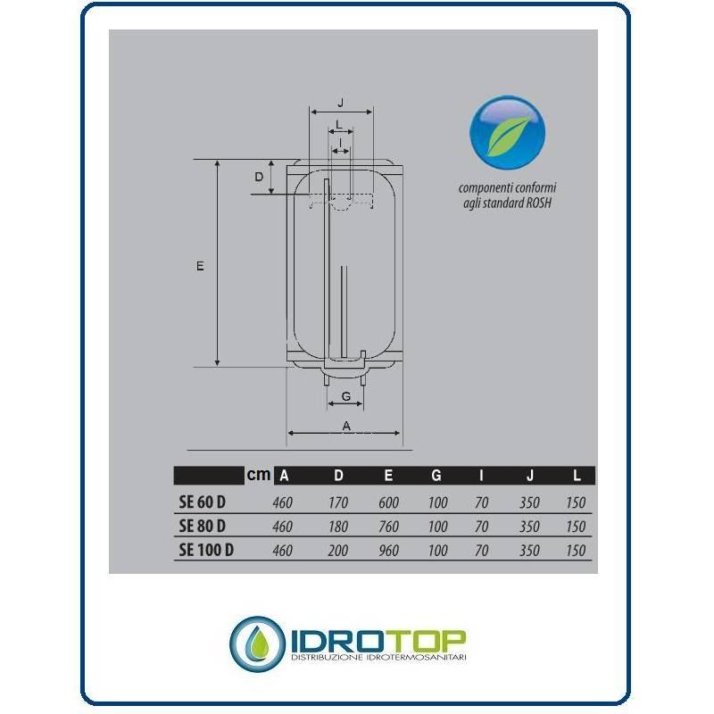 Scaldabagno lt80 elettrico smart risparmio energetico 5 - Scaldabagno elettrico 80 litri prezzo ...