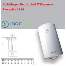 Scaldabagno LT80 Elettrico SMART Risparmio Energetico 5 Anni Garanzia