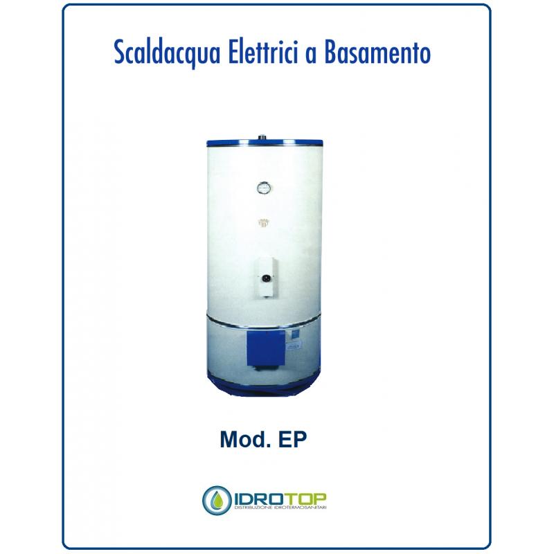 Scaldabagno elettrico 150lt mod ep a basamento con piedi industriale - Scalda bagno elettrico ...