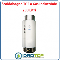 Scaldabagno LT200 TGF a Gas Industriale Heizer Camera Stagna Tiraggio Forzato