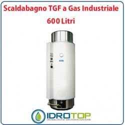 Scaldabagno LT600 TGF a Gas Industriale Heizer Camera Stagna Tiraggio Forzato