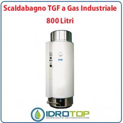Scaldabagno LT800 TGF a Gas Industriale Heizer Camera Stagna Tiraggio Forzato