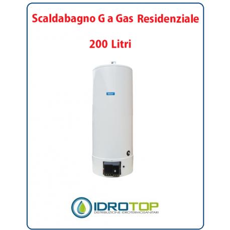 Scaldabagno lt200 g gas residen heizer camera aperta tiraggio forzato - Scaldabagno a gas camera aperta ...