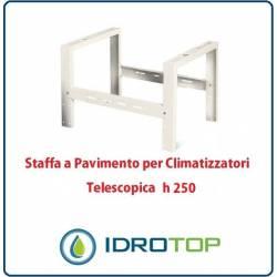 Staffa a Pavimento h250 Supporto di Rialzo per Climatizzatori Telescopica