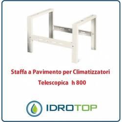 Staffa a Pavimento h800 Supporto di Rialzo per Climatizzatori Telescopica