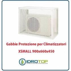 Gabbie di protezione XSMALL 900x660x450 mm per Climatizzatori Unità Esterna
