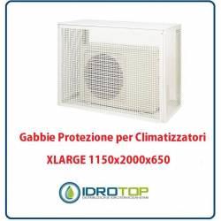 Gabbie di protezione XLARGE 1150x2000x650 per Climatizzatori Unità Esterna