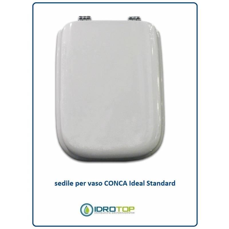 Copriwater sedile per modello conca ideal standard for Ideal standard cantica copriwater