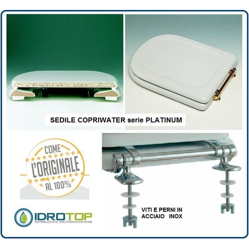 Sedile Water Ideal Standard Modello Conca.Copriwater Sedile Per Modello Conca Ideal Standard Cerniera Cromo