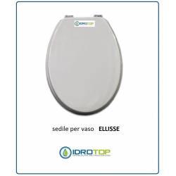 Copriwater sedile wc idrotop idrotermosanitaria online for Copriwater ellisse ideal standard