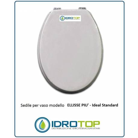 Copriwater sedile per modello ellisse piu 39 ideal standard for Copriwater ideal standard