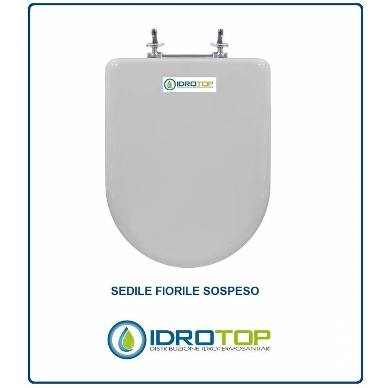 Copriwater sedile per modello fiorile sospeso ideal standard for Ideal standard cantica copriwater