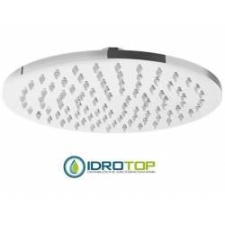 Soffione Tondo diametro 25x25cm, in Ottone Cromato Ponsi