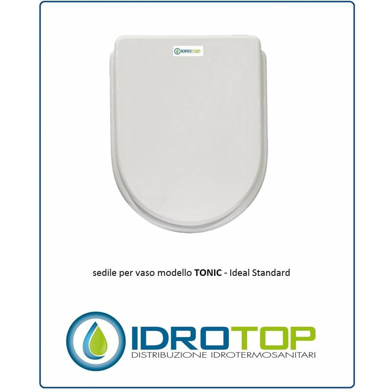 Copriwater sedile per modello tonic ideal standard for Copriwater ideal