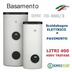 Scaldacqua ISS 400/3 - 400L Elettrico a Pavimento ad Accumulo in Acciaio Vetroporcellanata Styleboiler